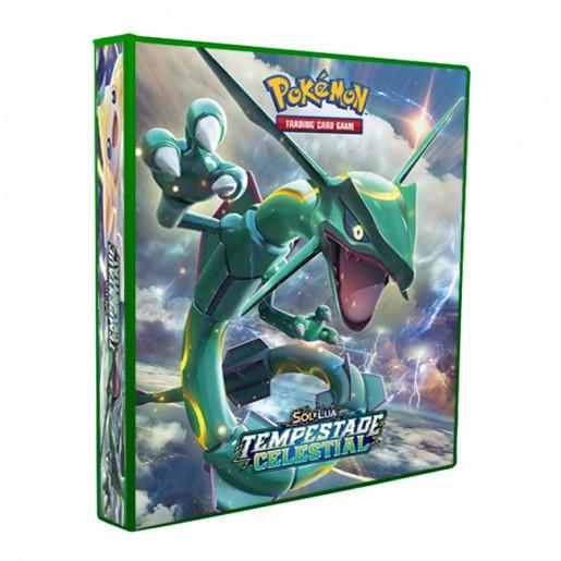 Álbum Pokémon - SOL & LUA Tempestade Celestial