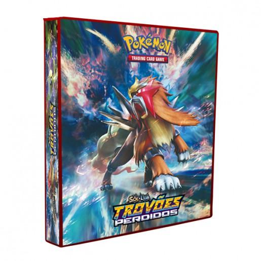 Álbum Pokémon - SOL & LUA Trovões Perdidos
