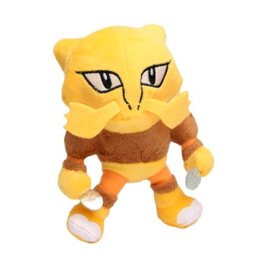 Pelúcia Turma Pokémon ALAKAZAN (18 cm) - Importada