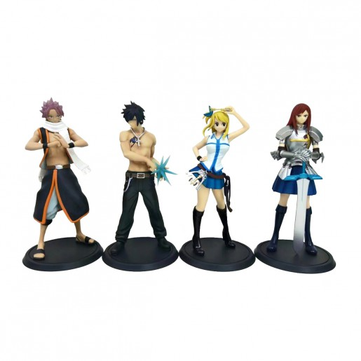 Action Figure FAIRY TAIL (15 cm) - 1 item/lote (4 modelos) - Importada