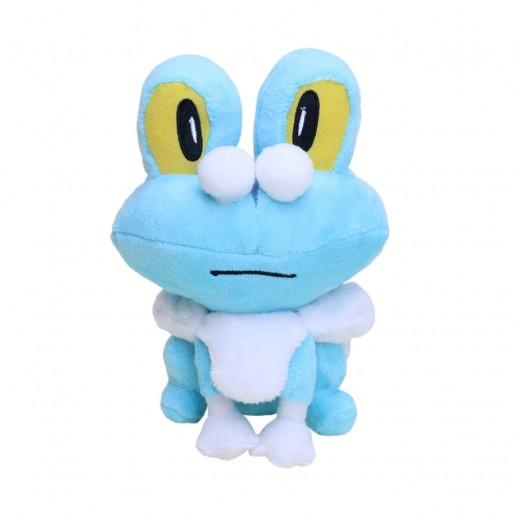 Pelúcia Turma Pokémon FROAKIE (18 cm) - Importada
