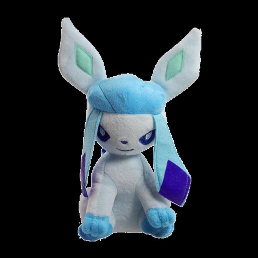 Pelúcia Turma Pokémon EEVEE GLACEON (18 cm) - Importada