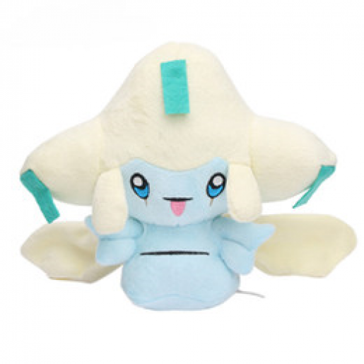 Pelúcia Turma Pokémon JIRACHI (18 cm) - Importada