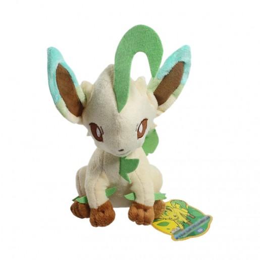 Pelúcia Turma Pokémon EEVEE LEAFEON (18 cm) - Importada