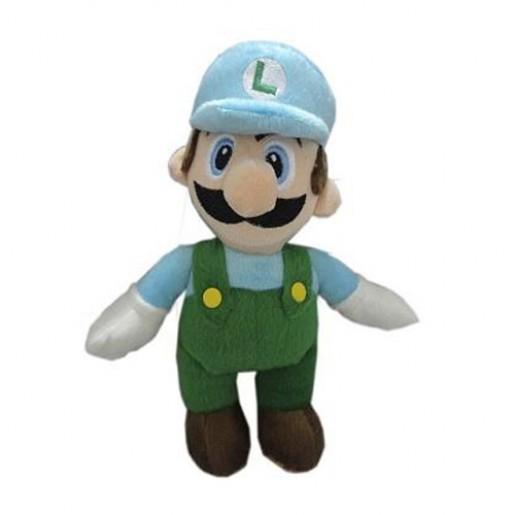 Pelúcia Turma Mario Bros LUIGI ICE MINI (25cm)