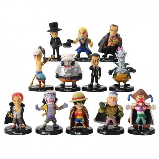 Miniatura ONE PIECE (5 cm) (modelo 3) - 12 itens/lote (12 modelos) - Importada
