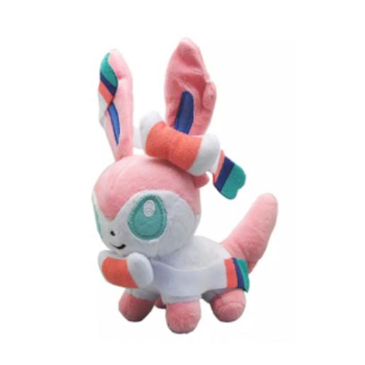 Pelúcia Turma Pokémon SYLVEON MINI (15 cm) - Importada