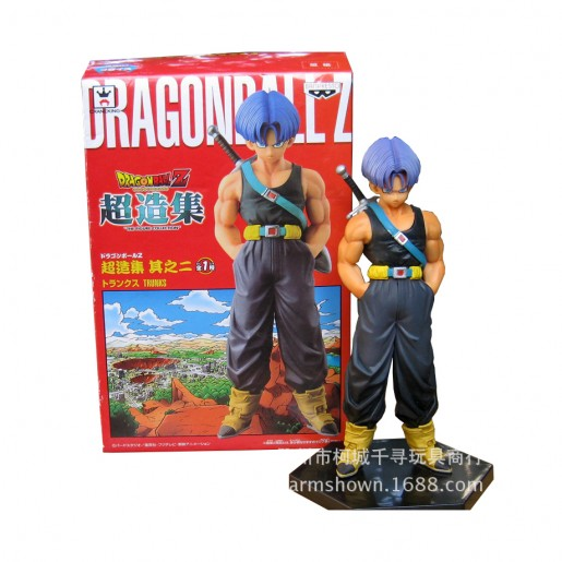 Action Figure DRAGON BALL TRUNKS (16 cm) (modelo 2) - Importada